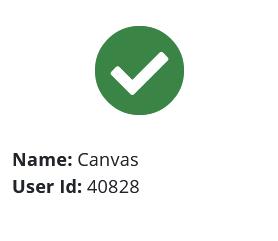 Screenshot: Verify Canvas