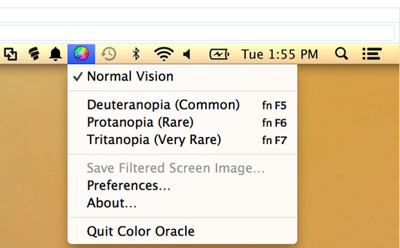 Color Oracle screen shot