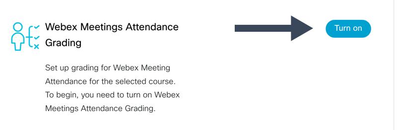 Turn On Webex Meeting Attendance