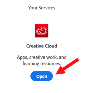 Your Services Creative Cloud Image