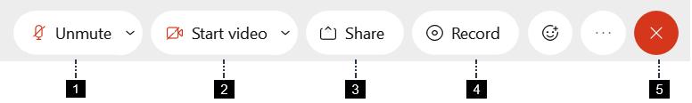 Screenshot: Control Bar